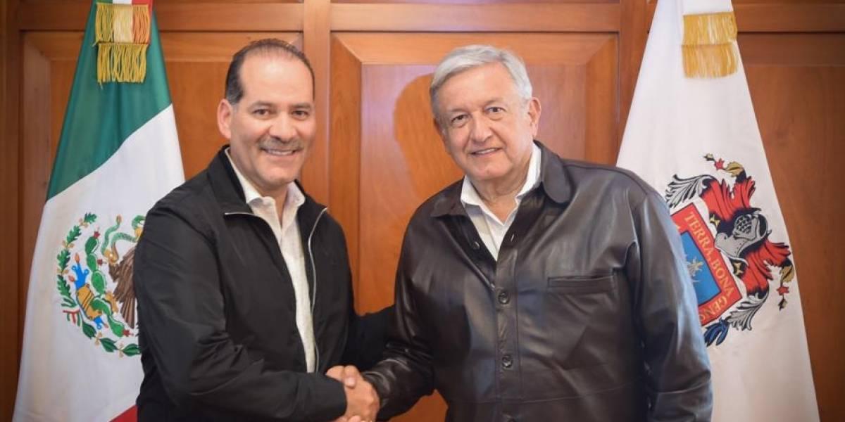 AMLO acuerda más infraestructura para Aguascalientes