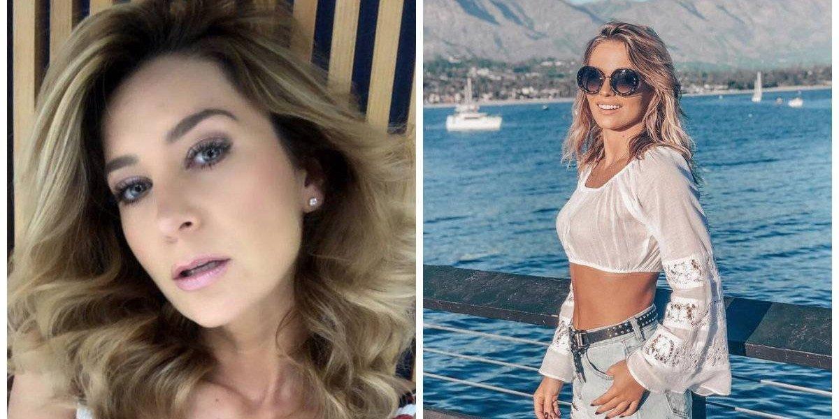 Geraldine Bazán e Irina Baeva protagonizan 'guerra' de bikinis