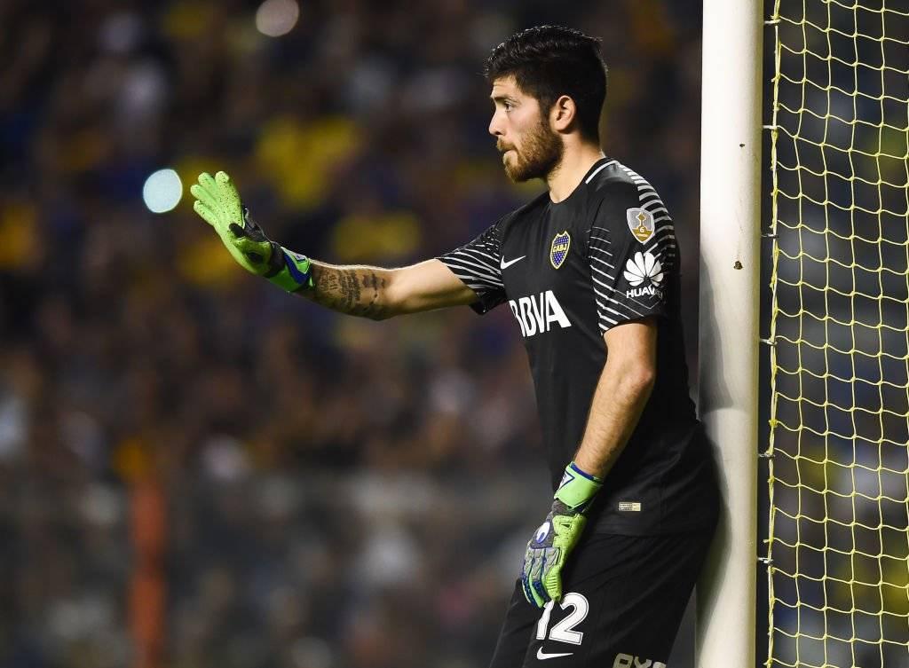 Agustín Rossi competirá con Carlos Lampe por ser el arquero titular de Boca Juniors en las semis de la Libertadores / Foto: Getty Images