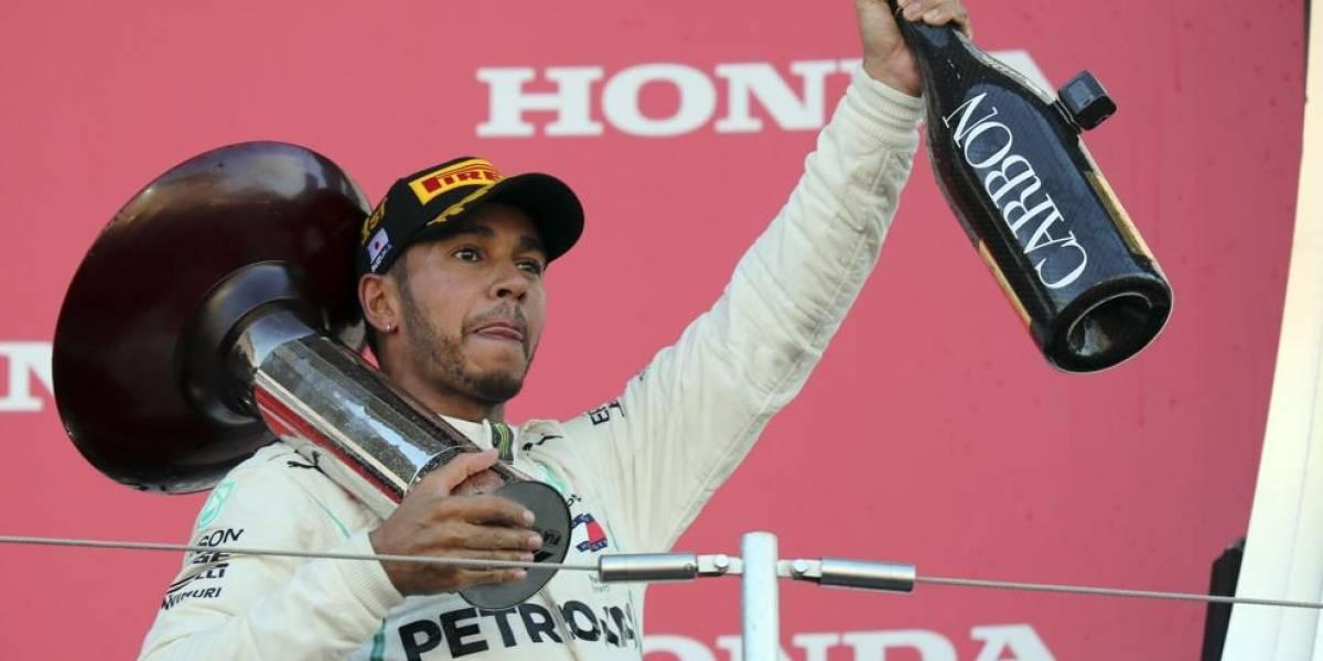 F-1. Hamilton consolida su liderazgo en el GP de Japón