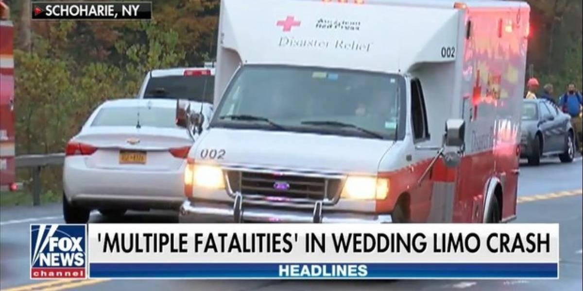 Accidente en Nueva York: al menos 20 muertos al chocar una limusina de boda contra una tienda