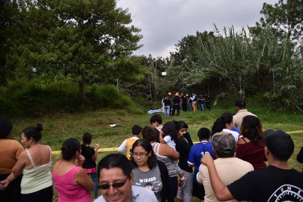Localizan cadáver San José las Rosas