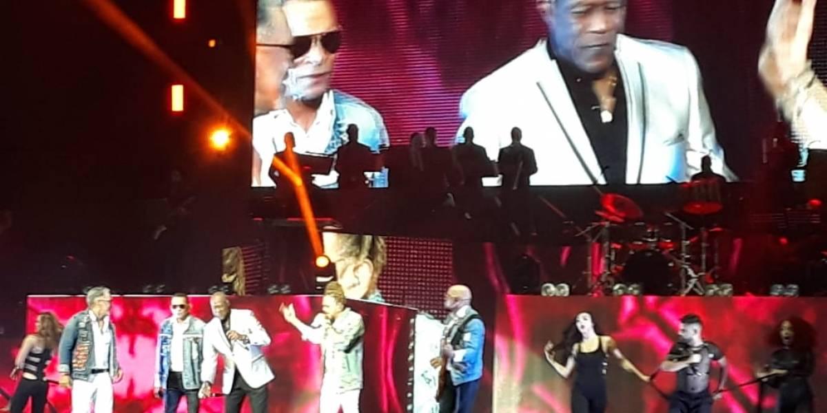 Por todo lo alto, Los Rosario celebraron sus  cuatro décadas de la música en Palacio de los Deportes