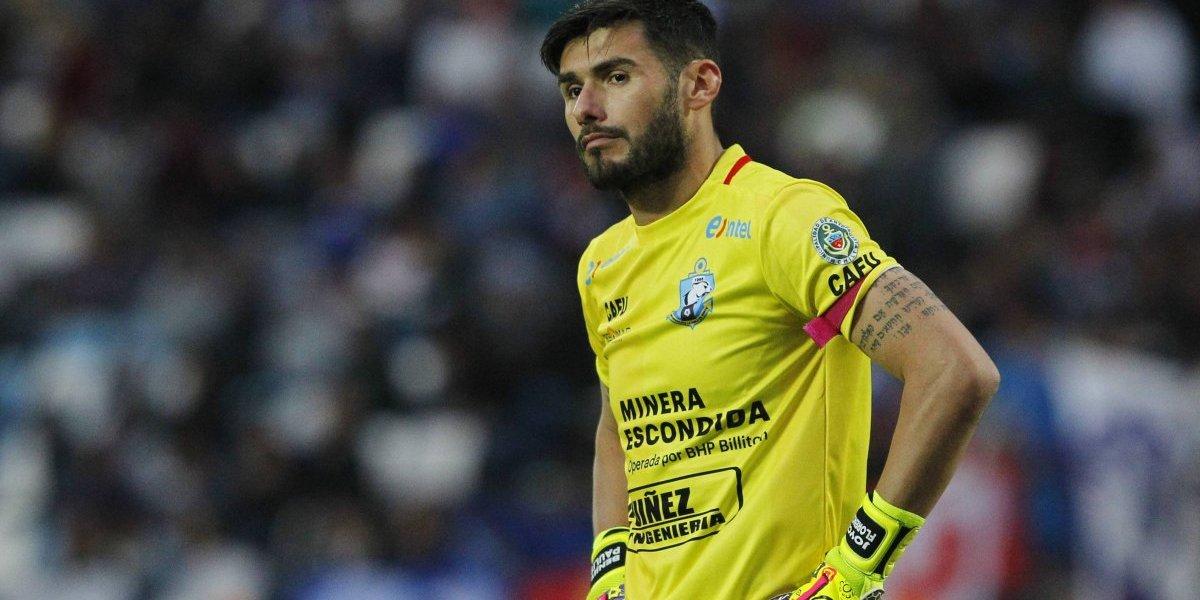 Un grosero error de Paulo Garcés complicó a Antofagasta en Quillota y definió el empate con San Luis