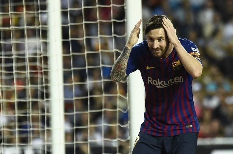 Gol de Lionel Messi contra el Valencia