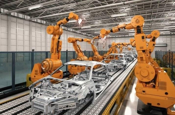 Los robots son pieza clave en la industria automotriz, donde el trabajo humano se ha visto reducido / Getty Images