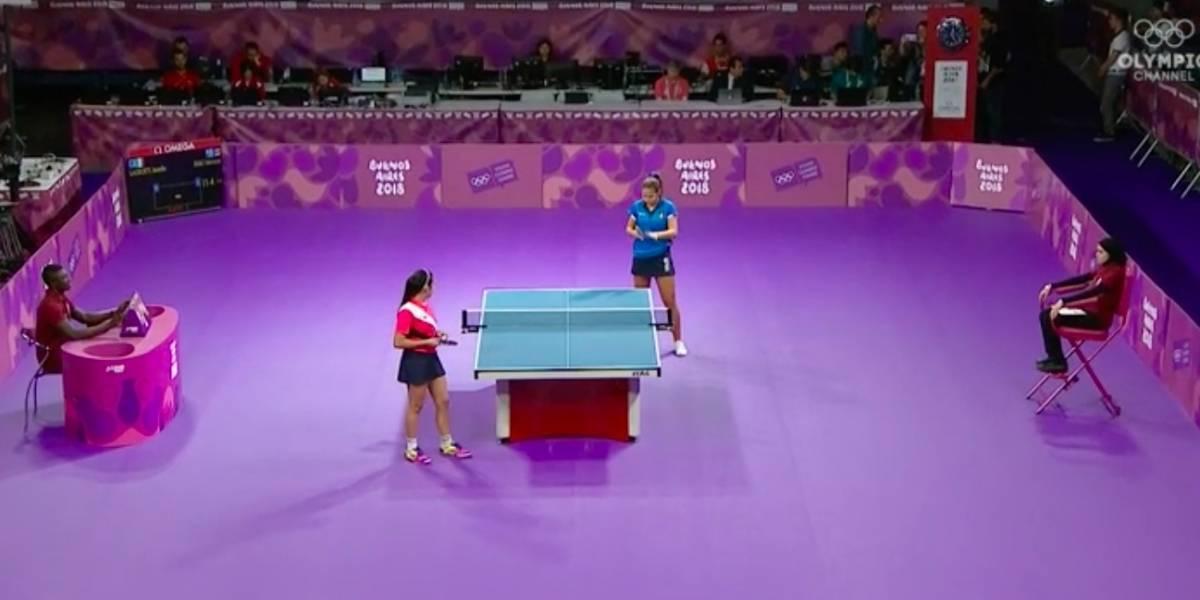 Adriana Díaz abre con victoria en Olimpiadas Juveniles