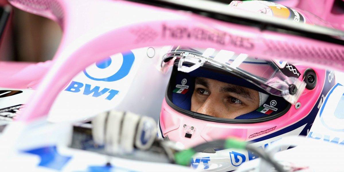 Sergio Pérez satisfecho por su actuación en el Gran Premio de Japón