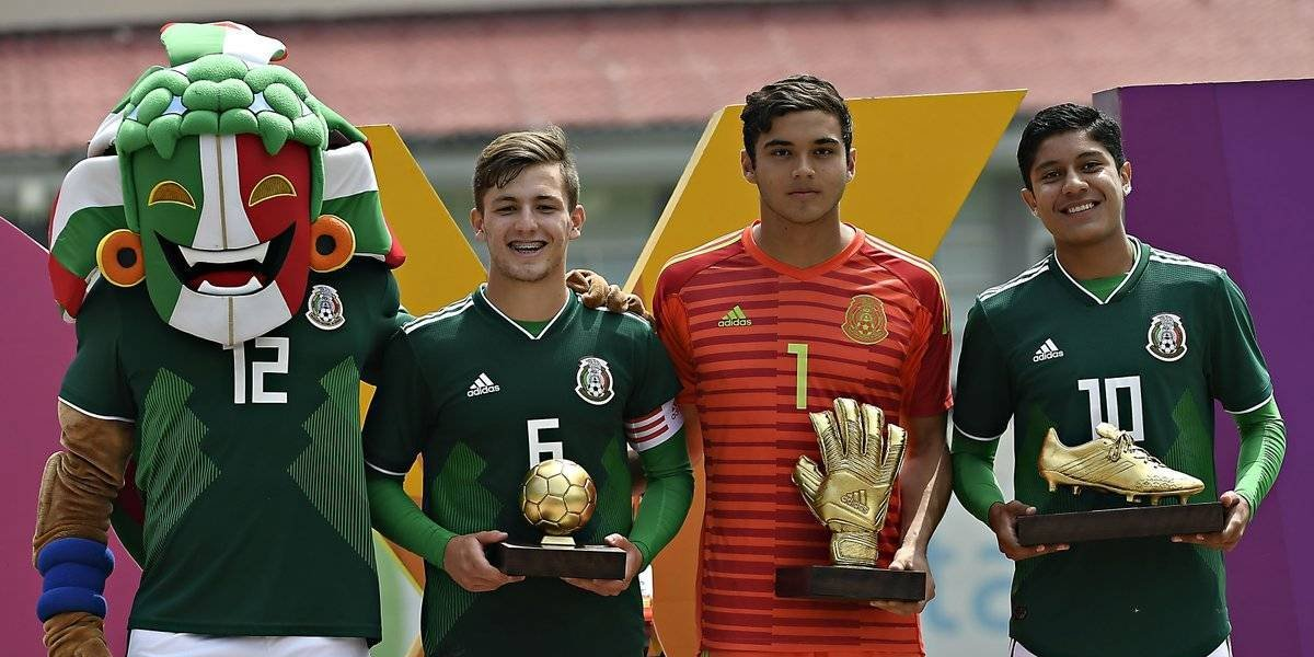 Tri sub 17 se proclama campeón del Torneo Cuatro Naciones