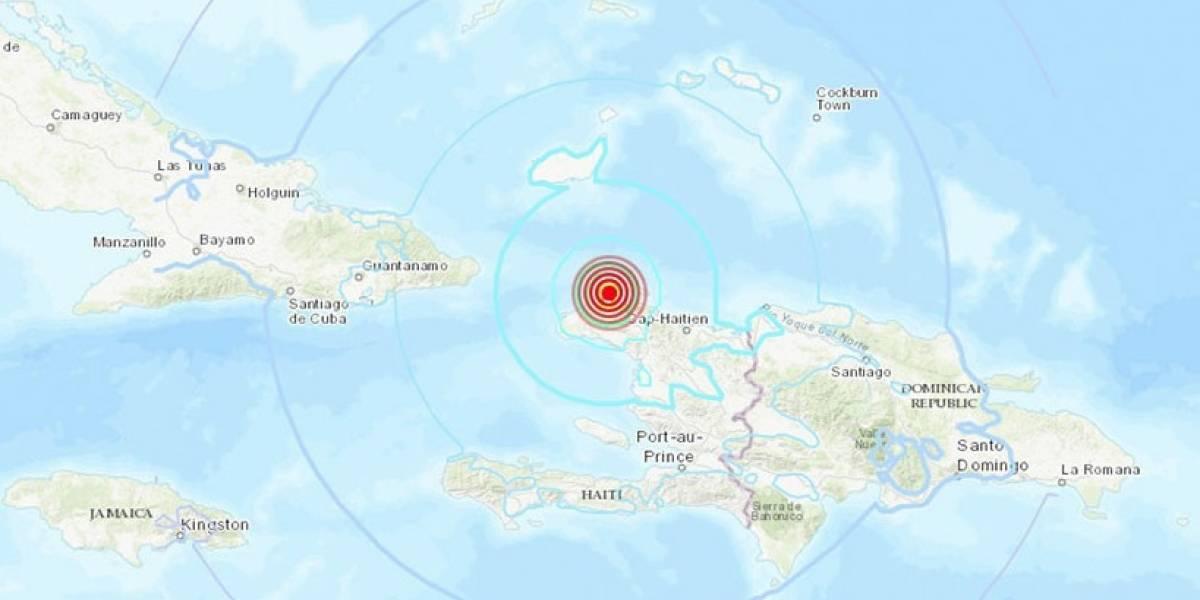 Sismo al norte de Haití deja al menos 11 muertos y varios heridos