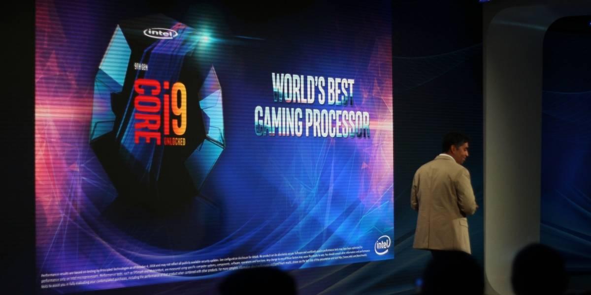 """Intel anuncia la novena generación de procesadores e incluye """"el mejor modelo para juegos del mundo"""""""