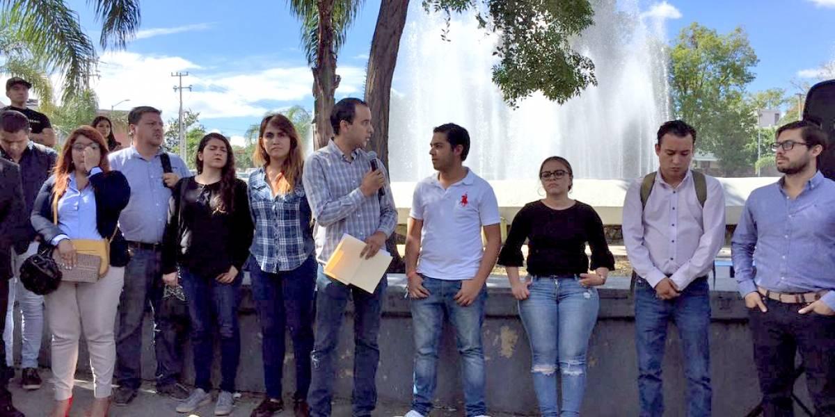 Alistan marcha por muerte de dos estudiantes de la Universidad de Guadalajara