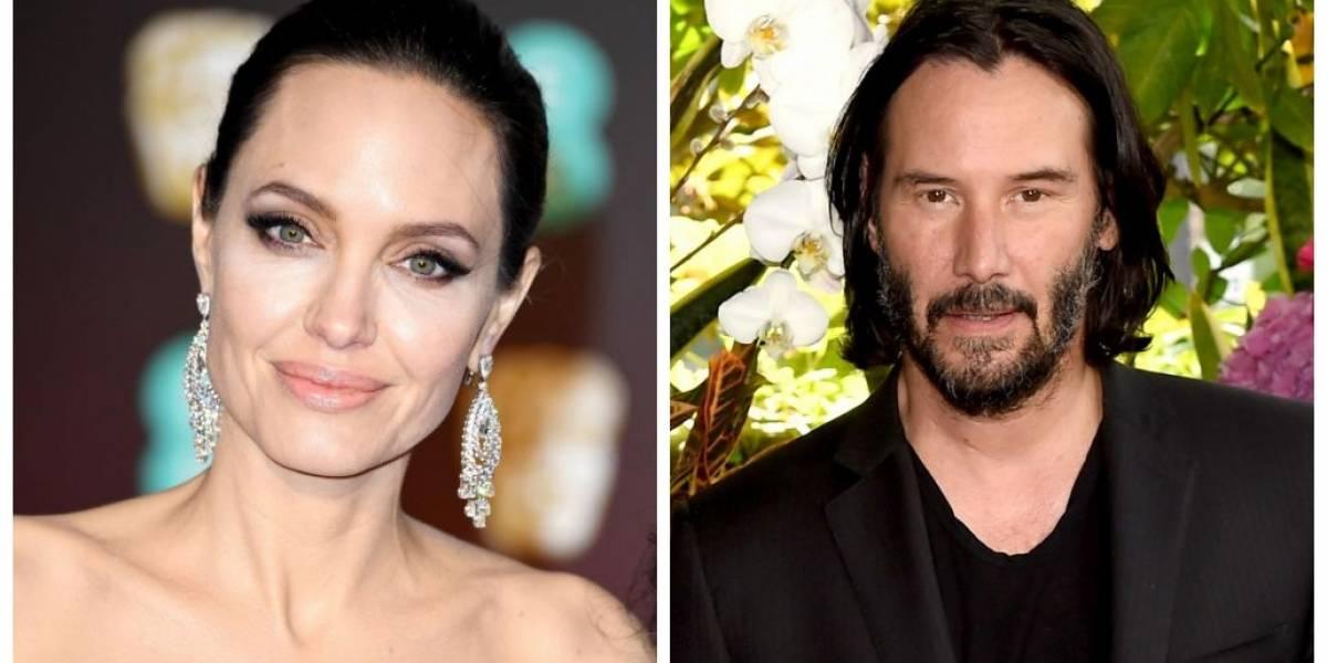 Angelina Jolie estaria namorando com Keanu Reeves, diz revista