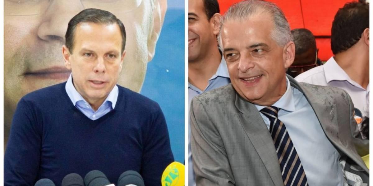 Apoio (ou não) a Bolsonaro fica no centro da campanha dos candidatos pelo governo de SP