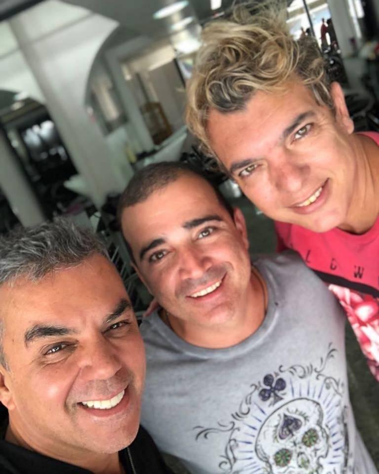 Selfie do dia: os amigos Ivan Aguilar, Kaedy Azevedo e Kady Kettylling | Arquivo pessoal