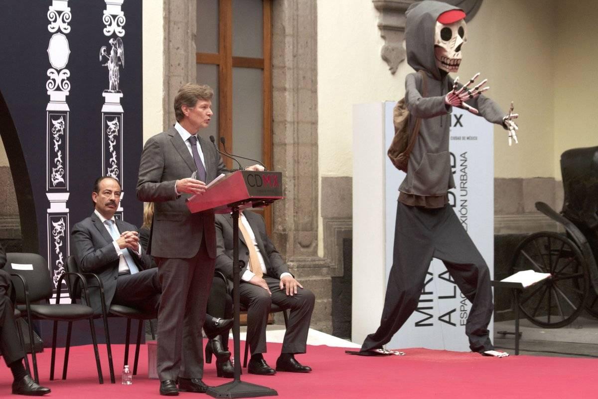 Secretario de Turismo, Enrique de la Madrid. Cortesía