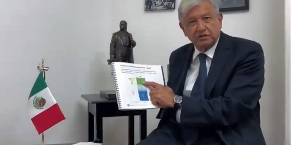 NAICM lleva 20% y solicitan 88 mil millones de pesos más: AMLO