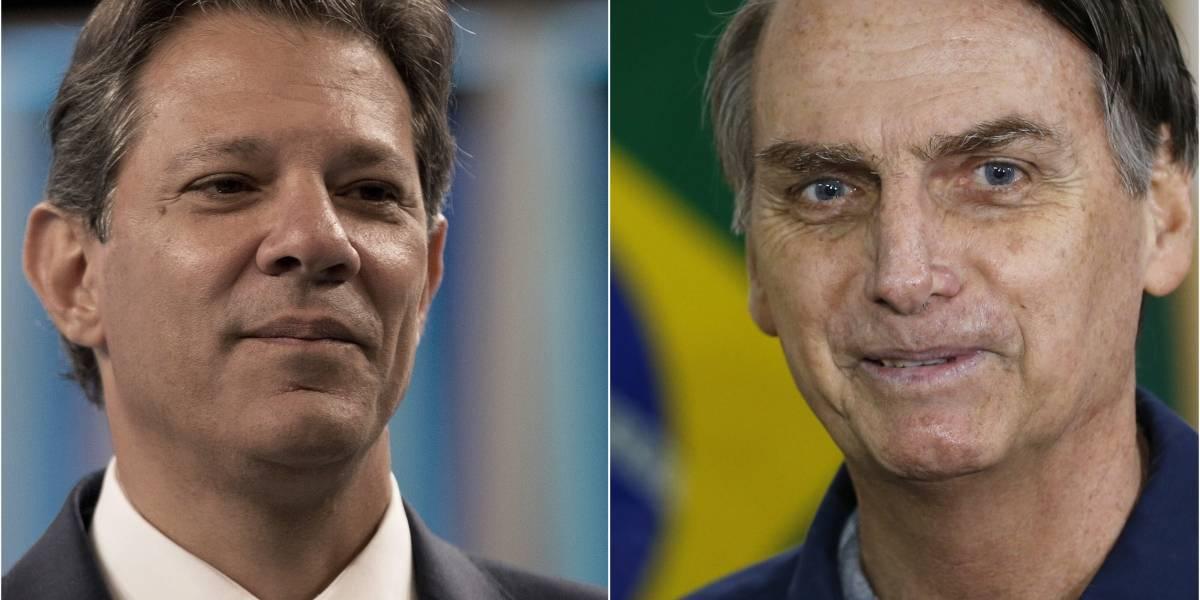 El encuentro final entre Bolsonaro y Haddad: todo lo que hay que saber de la segunda vuelta presidencial en Brasil