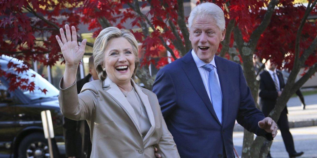 Encuentran una bomba en casa de los Clinton