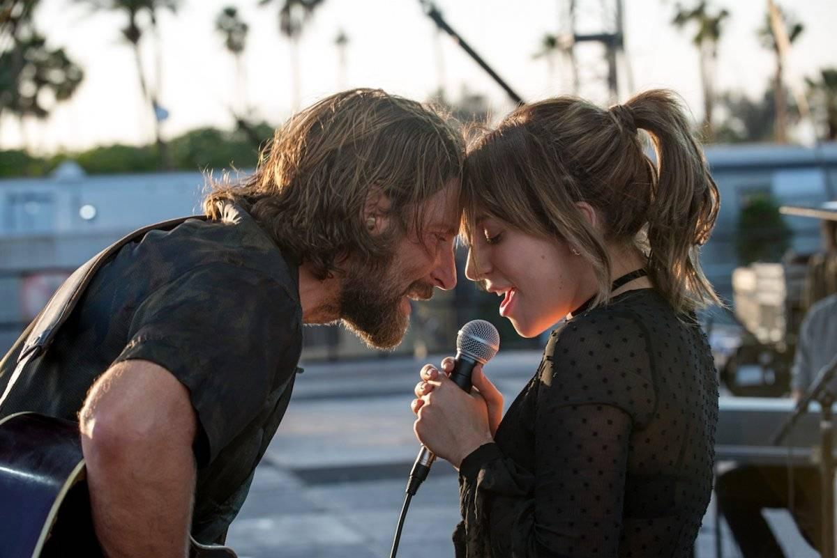 """Bradley Cooper y Lady Gaga protagonizan el filme """"A Star is Born"""". Foto: Warner Bros. Pictures"""