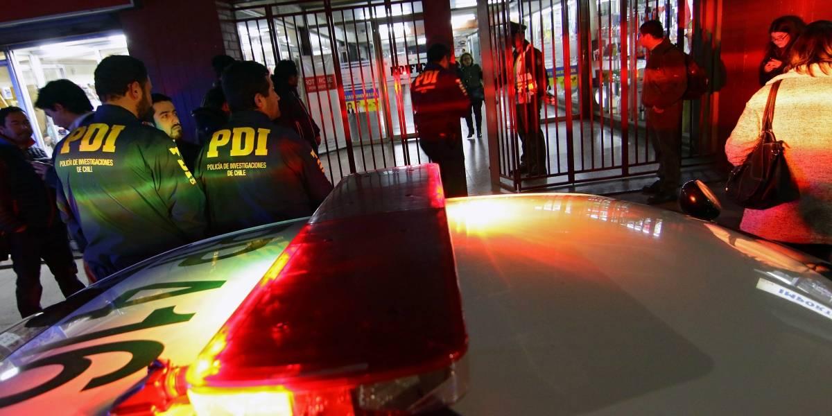 Balacera entre bandas rivales deja dos muertos en Estación Central