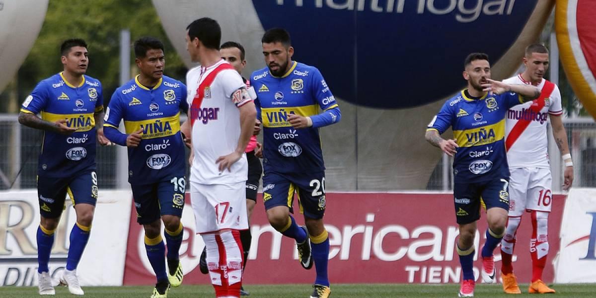 Preparador físico de Everton fue detenido tras provocar destrozos en el camarín de Curicó