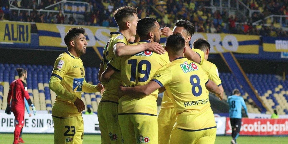 La U. de Concepción goleó a Iquique y le pisa los talones a la UC en la pelea por el título