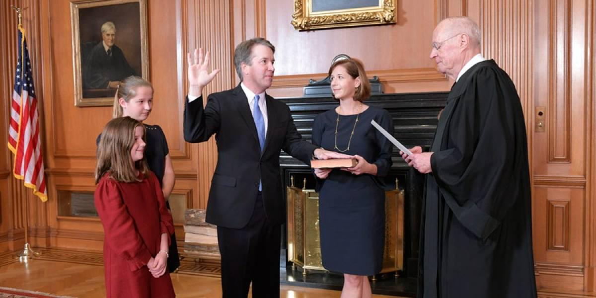 Brett Kavanaugh es investido juez de Corte Suprema tras polémica