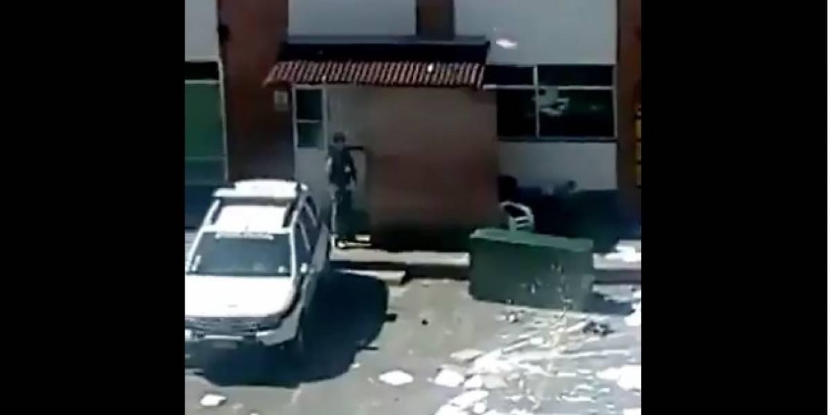 ¡Atención! Motín en estación de Policía ocasiona caos en norte de Bogotá