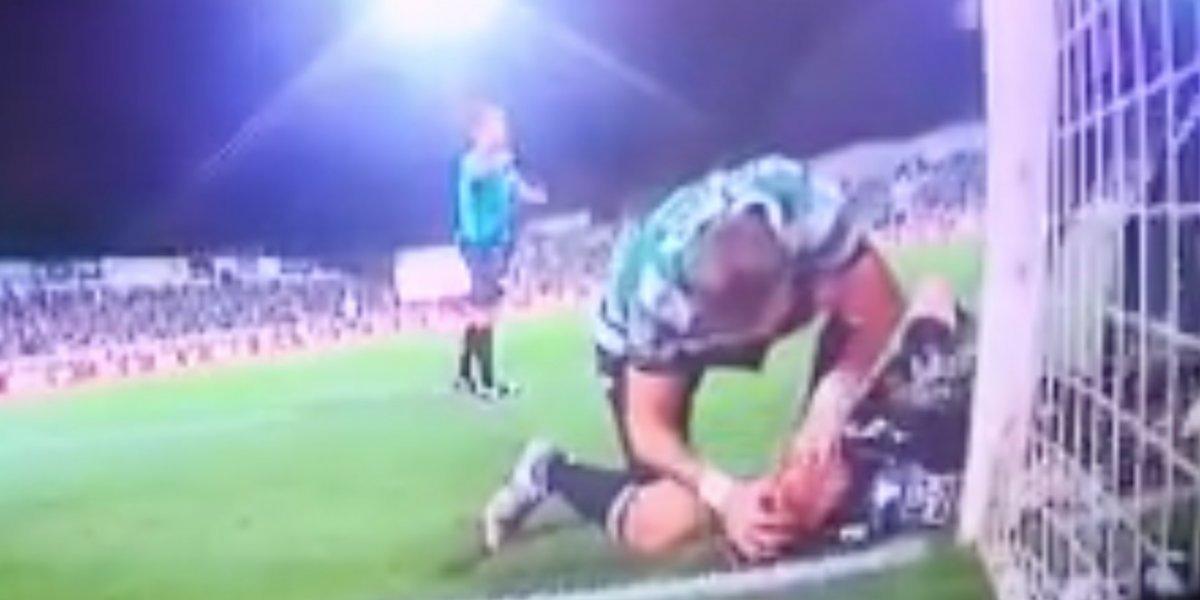 La rápida acción del uruguayo Sebastián Coates que le salvó la vida a un compañero de equipo