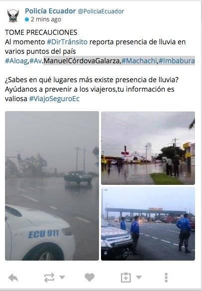 vía Alog- Santo Domingo, Manuel Córdova Galarza, en Machach