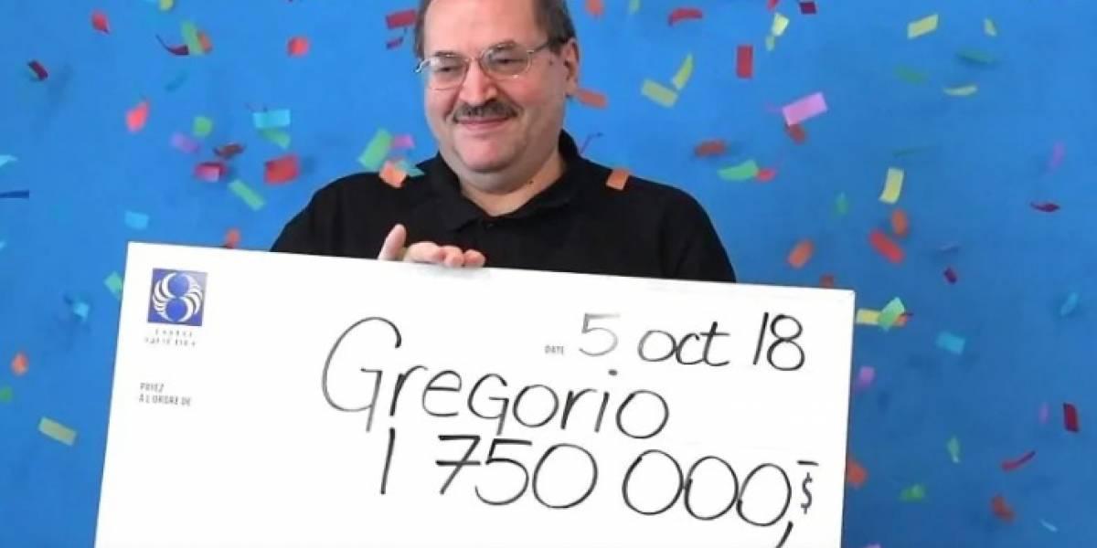 """""""La suertecita suya"""": canadiense se hizo millonario tras encontrar boleto de lotería en una antigua chaqueta"""