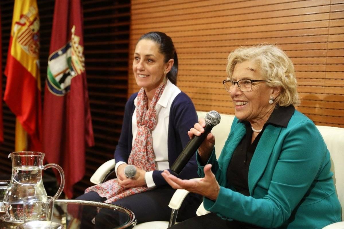 Claudia Sheinbaum se reunió con María Carmen. Cortesía.