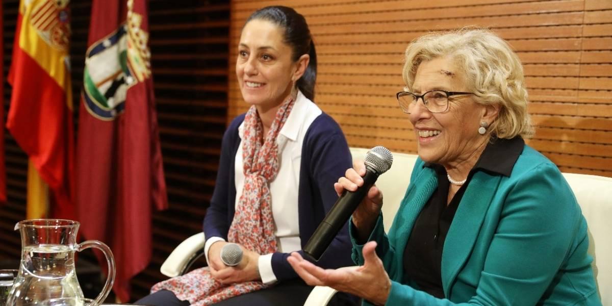 Se reúne Sheinbaum con alcaldesa de Madrid
