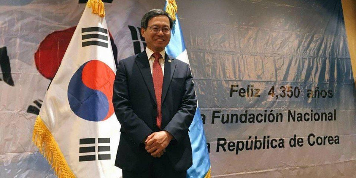 Embajador de Corea en Guatemala se despide tras concluir su misión en el país