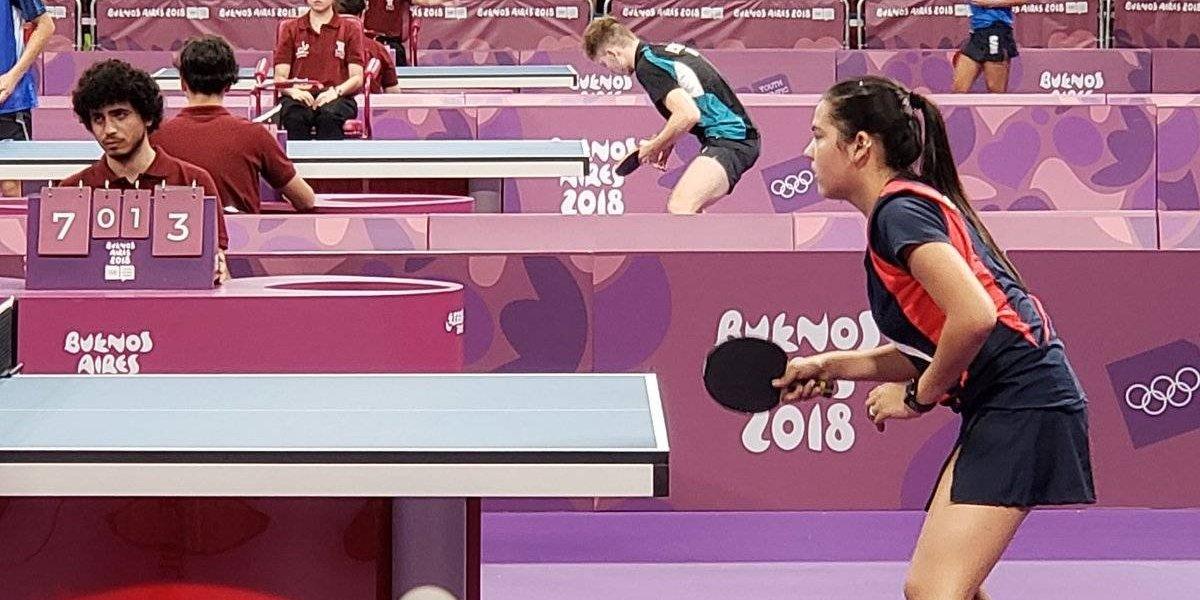 Adriana Díaz finaliza invicta fase de grupos de Olimpiadas Juveniles