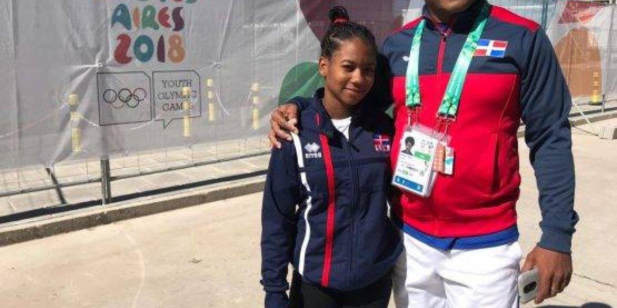 Dahiana Ortiz finaliza en el cuarto lugar en pesas