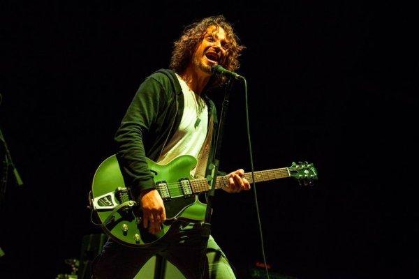 Chris Cornell en concierto