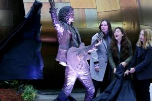 Estatua de Chris Cornell