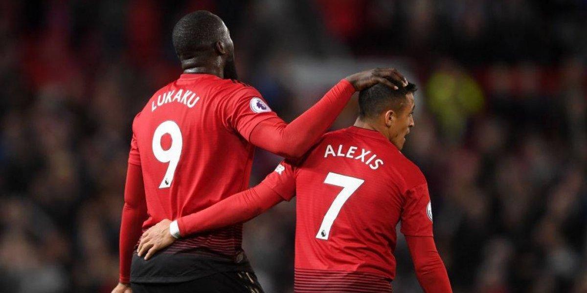 """Lukaku defiende a su amigo Alexis: """"Es uno de los jugadores más esforzados que vi en mi carrera"""""""