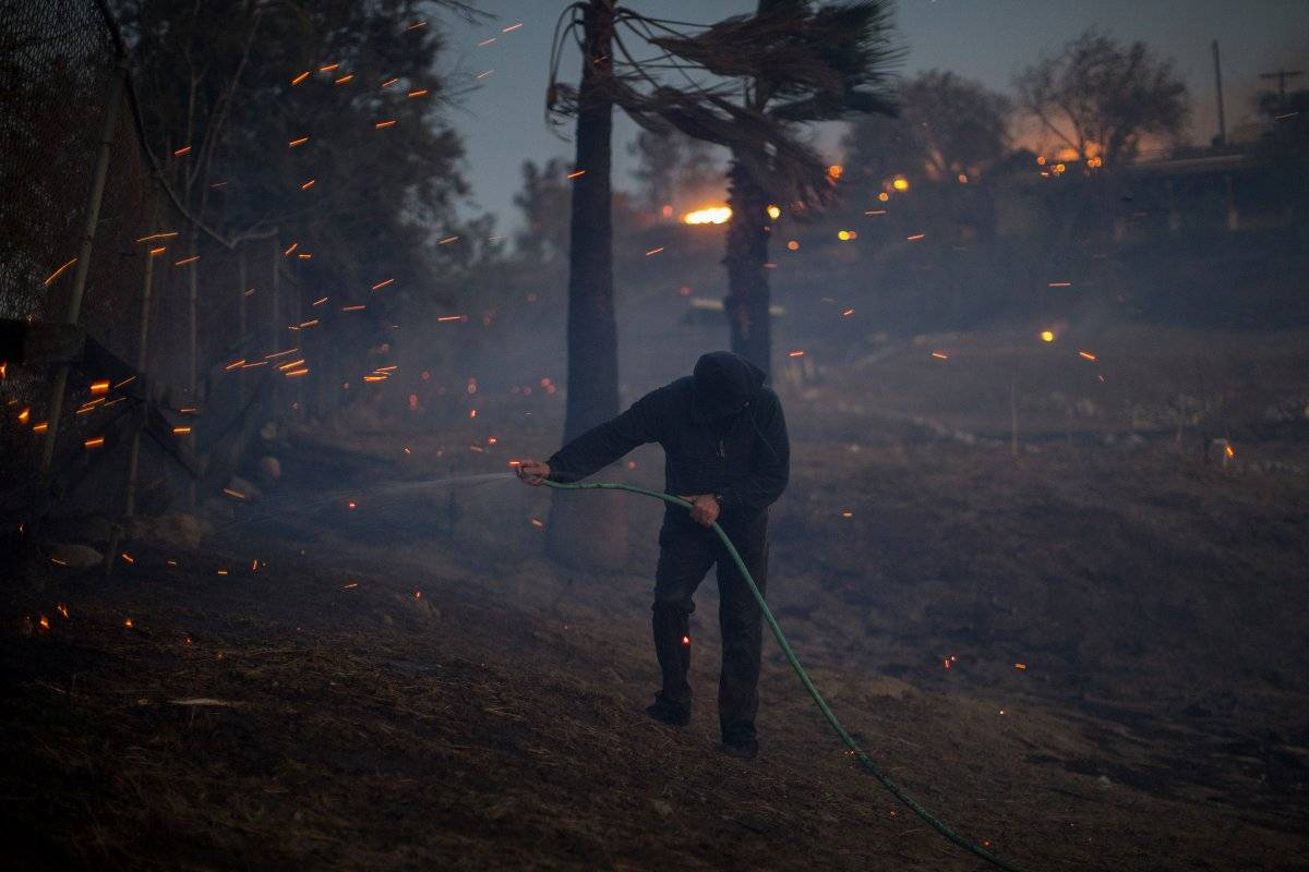 Expertos aseguran que el incremento en los incendios forestales se debe al cambio climático Foto: Getty Images