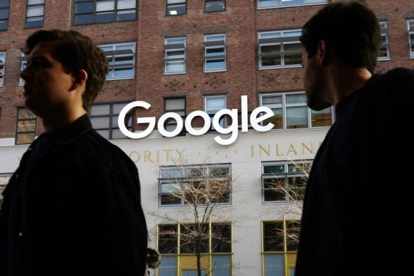 Falla en Google