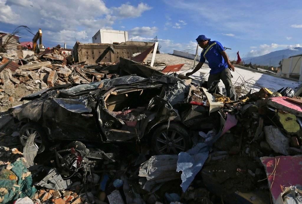 La destrucción en Indonesia a 10 días del tsunami Foto: AP