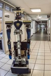 """Robot """"Justina"""" de la UNAM triunfa en Madrid, España"""