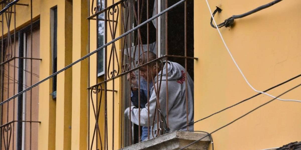 VIDEO. Menores de hogar en zona 14 realizan motín y exigen mejoras
