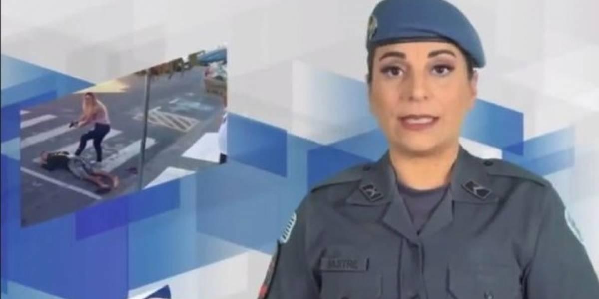 Mujer policía que mató a un ladrón en la calle gana diputación en Brasil
