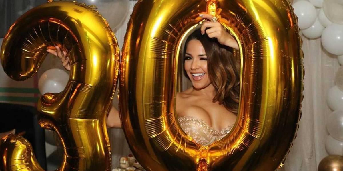 ¡Deslumbrante! Así fue la celebración del 30 cumpleaños de Gredmarie Colón