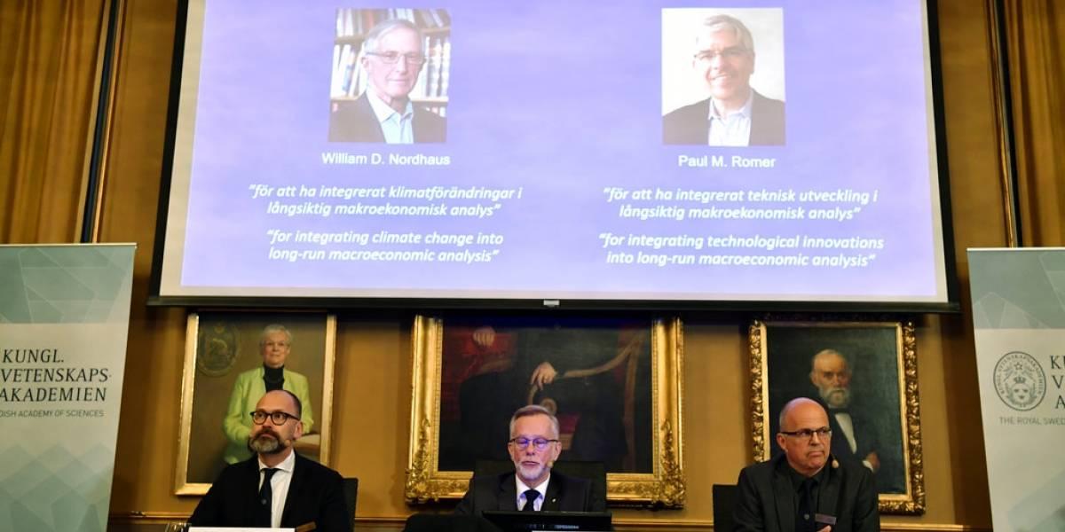 Nobel de Economía reconoce esfuerzo por crecimiento sostenible