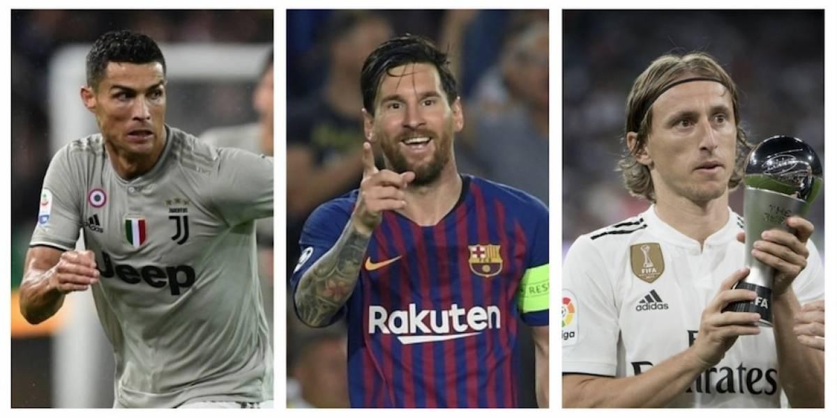 Cristiano, Messi yModrić, entre losnominados al Balón de Oro