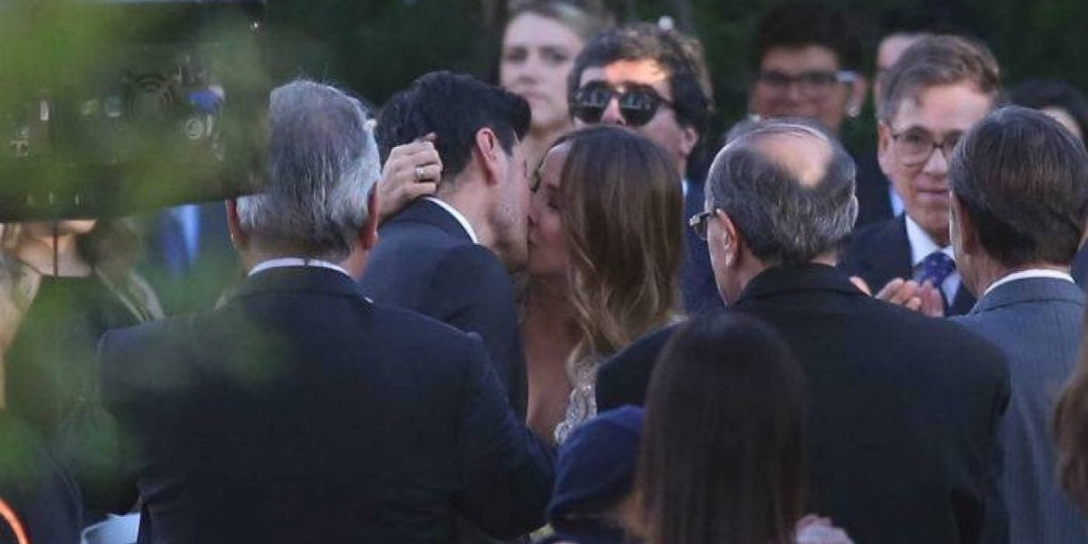 Paloma Aliaga finalmente se casó con su ex cuñado Cristóbal Valenzuela